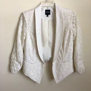 XOXO white blazer Size S